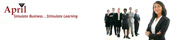 April Training: Simulating Business, Stimulating Learning